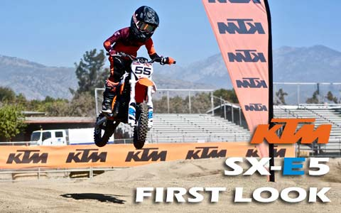 2020 KTM SX-E5 First Look Intro