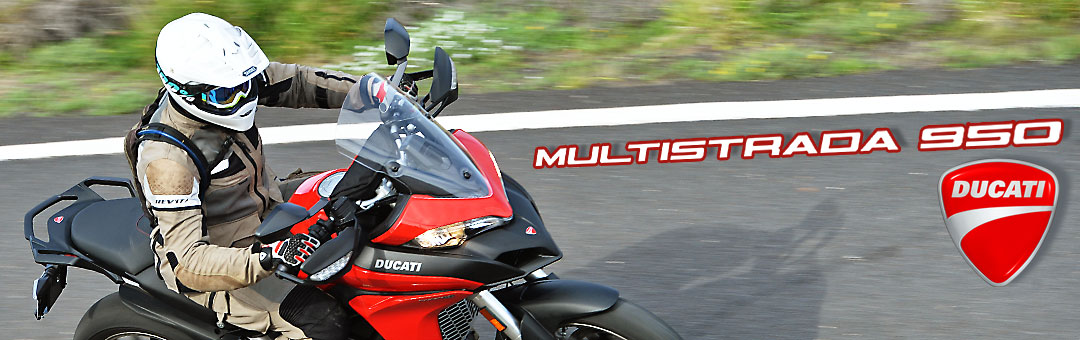 first impressions: ducati multistrada 950 | bikes | reviews
