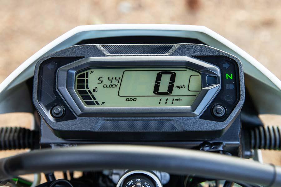Kawasaki KLX230 dash