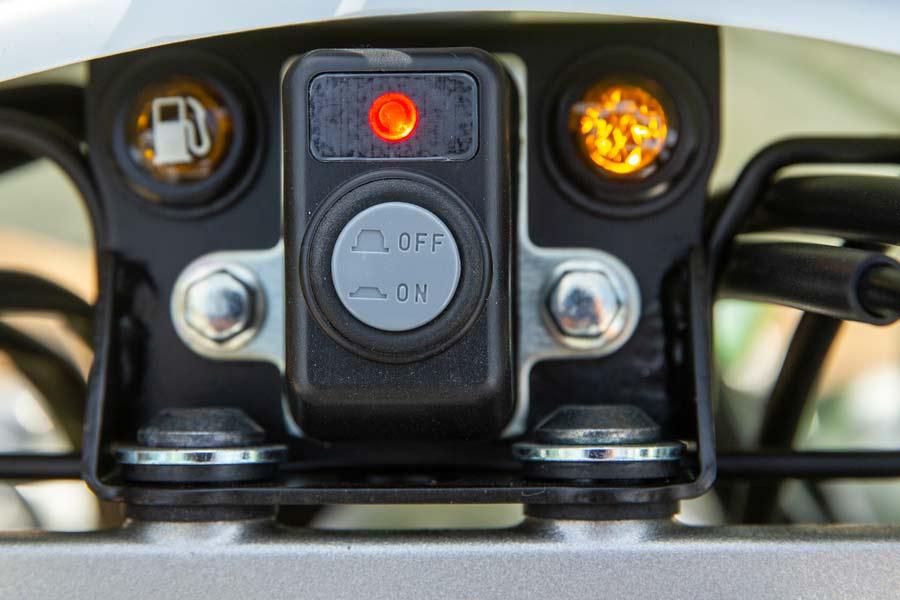 Kawasaki KLX230R dash
