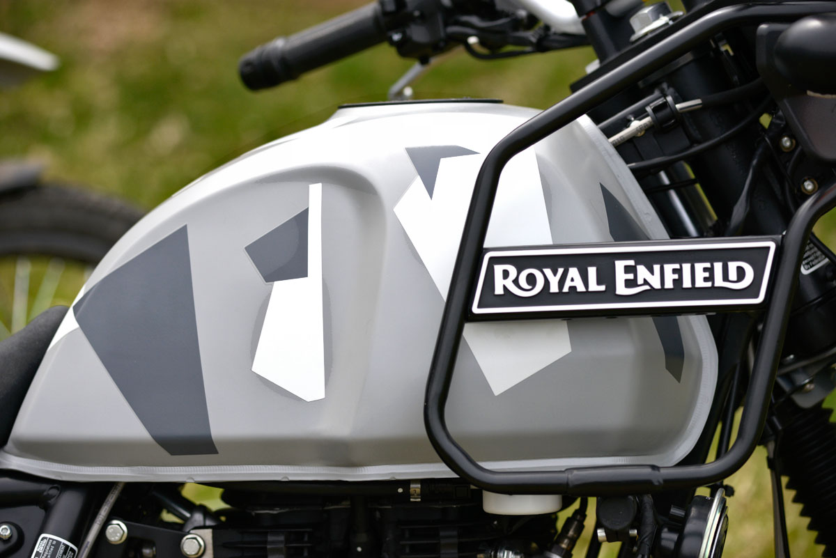 2019 Royal Enfield Himalayan Abs Sleet Updates Adventure