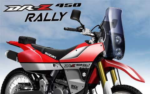 ADVMoto Suzuki DR-Z 450 Rally and World Concepts