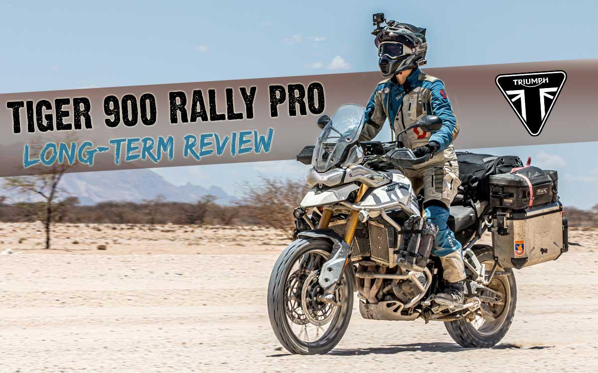 Triumph Tiger 900 Rally Pro Long Term Review intro