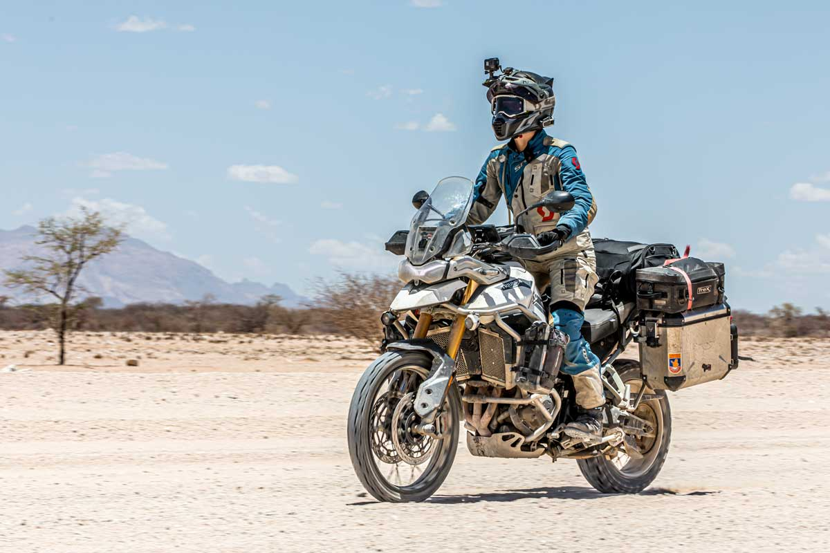 Tiger900RallyPro Long Term Review Namibia