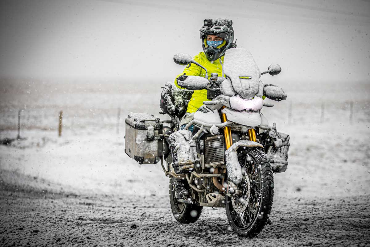 Tiger900RallyPro Long Term Review snow