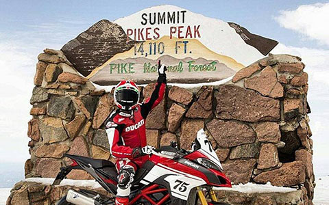 Ducati Race to the Clouds: From the Show Room to Pikes Peak