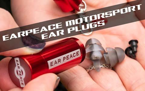 EarPeace Motorsport Ear Plugs