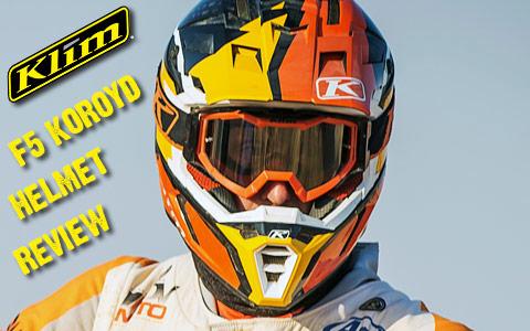 Klim F5 Koroyd Helmet Review intro