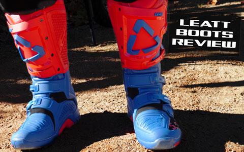Leatt GPX 5.5 Flexlock Boot Review