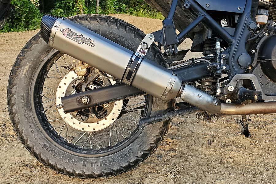 Lextek SA1 Exhaust Himalayan 2