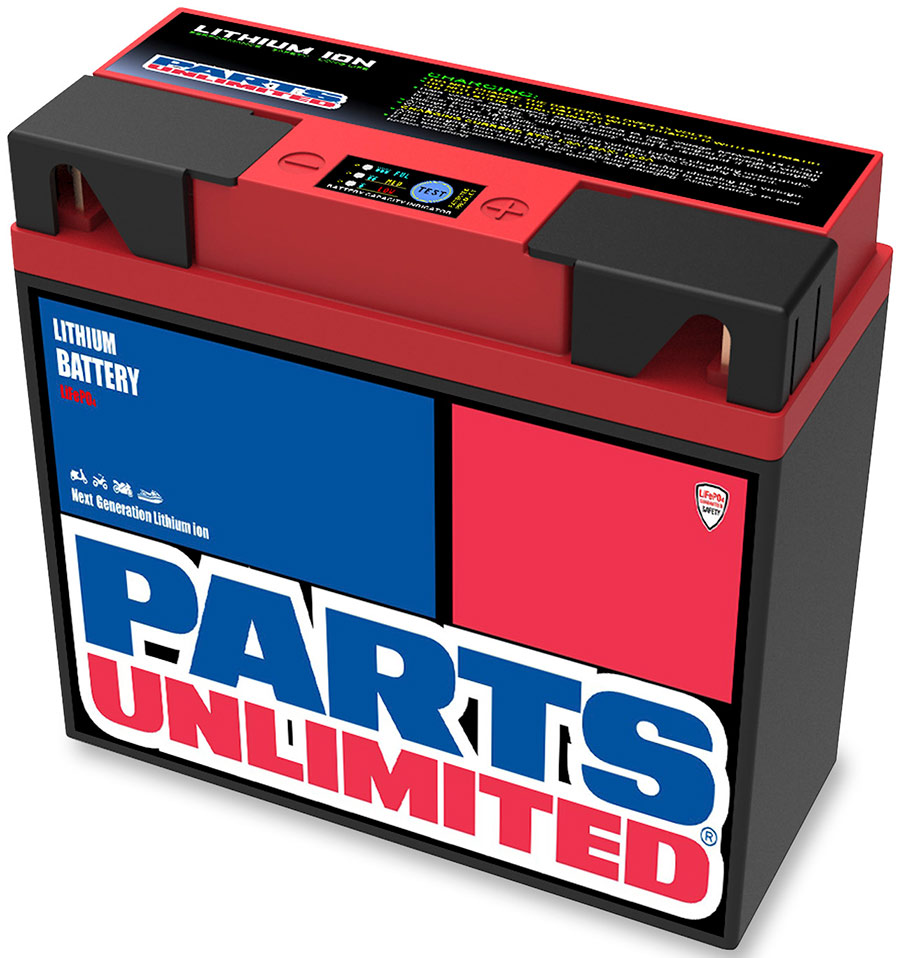 PartsUnlimited lithium battery