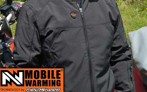 Mobile Warming Heated Jacket intro
