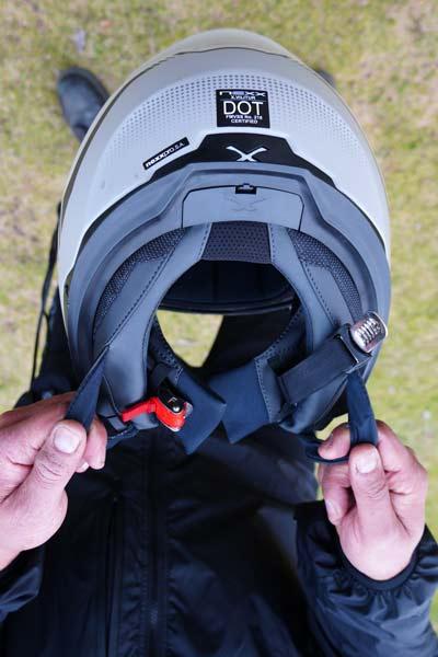 Nexx XVILITUR Helmet buckle