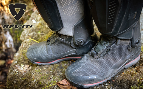 REV'IT! Expedition H2O Boots Review intro