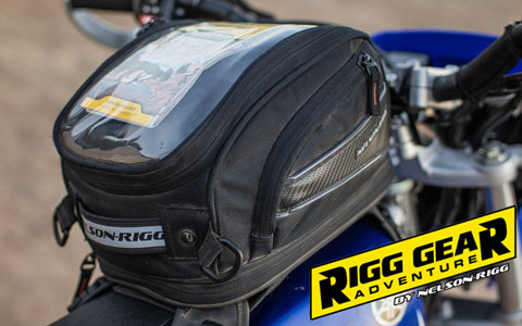 Nelson-Rigg CL-2014 Strap Mount Tank Bag Review