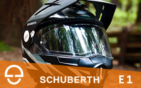Schuberth E1-PE helmet review intro