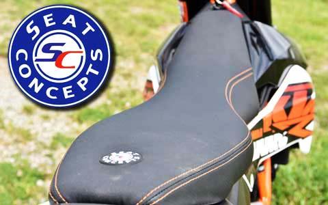 Seat Concept KTM 690 seat review