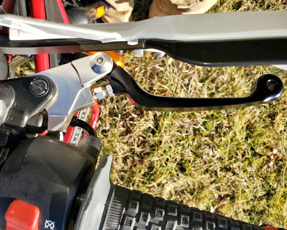 Warp9 RoyalEnfield Himalayan Brake Lever
