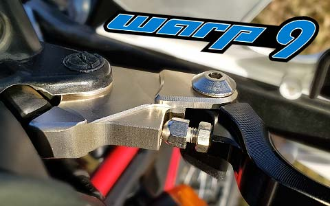 Warp9 Royal Enfield Himalayan Brake-Clutch Adjustable Levers