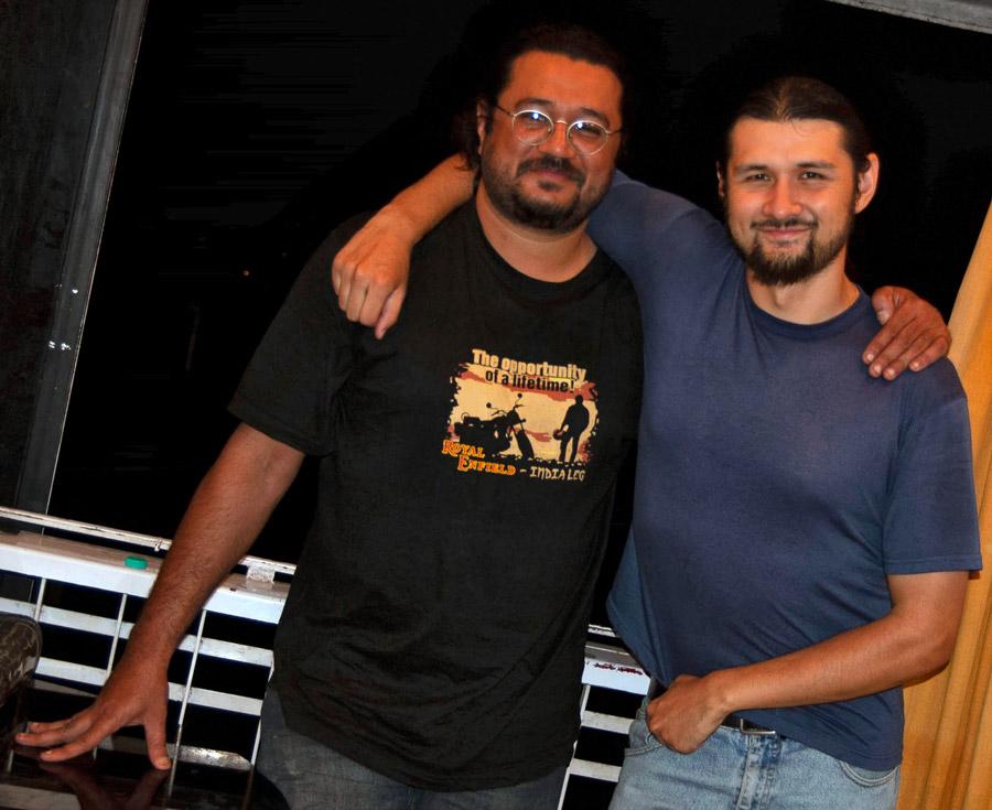 Gaurav Jani and Carl