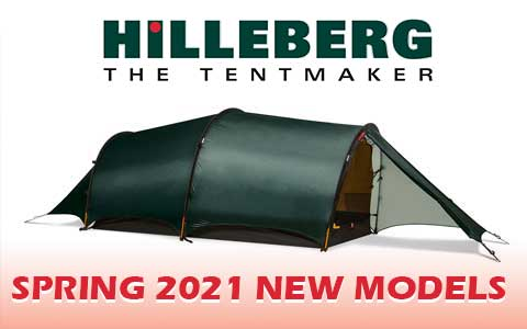 Hilleberg Brings Out New Models for 2021