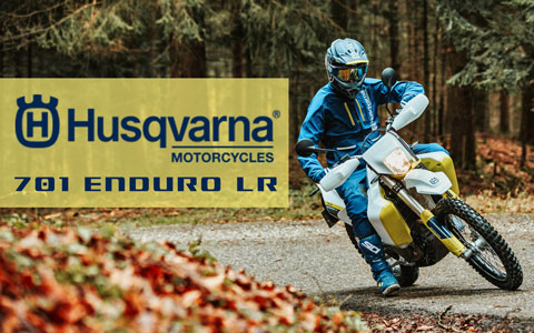 Roam Further with the 2020 Husqvarna 701 Enduro LR