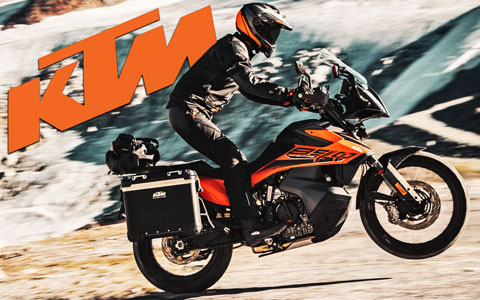 KTM Adds the Ultimate Gravel Traveler to 890 Lineup