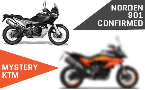 Mystery KTM Model Leaked Alongside Norden 901