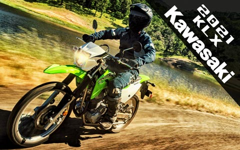 Get Out and Play with the 2021 Kawasaki KLX Line Up