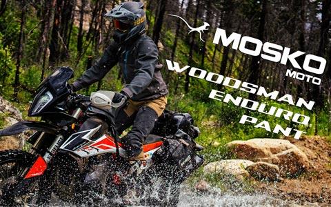 Mosko Moto Announces New Woodsman Enduro Pant