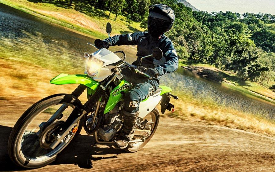MIC Dirt dual sport sales Kawi