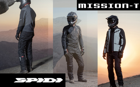 SPIDI Announces New Mission-T Jacket with STEP-INARMOR Tech