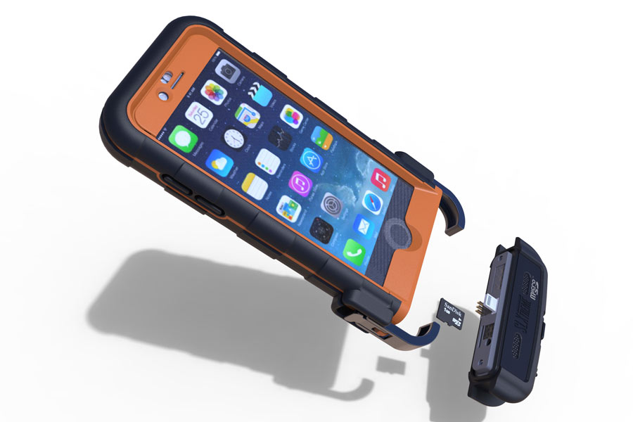 Case Design battery charging phone cases : In addition to offering the complete cases, SnowLizard is offering the ...