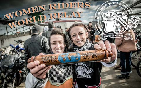 Women Riders World Relay (WRWR) Unites Women Globally