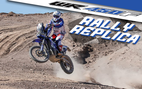 Yamaha Announces WR450F Rally Replica for Europe