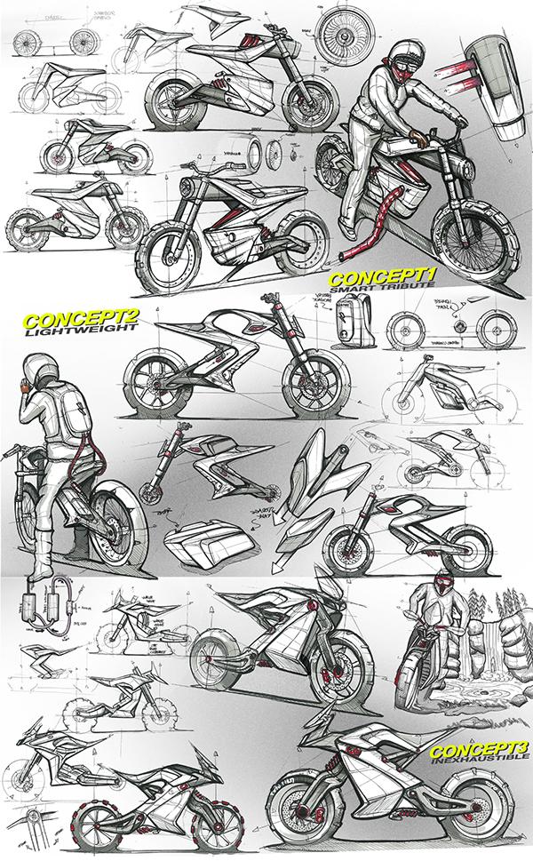 Yamaha XT 500 2025 Concept 09