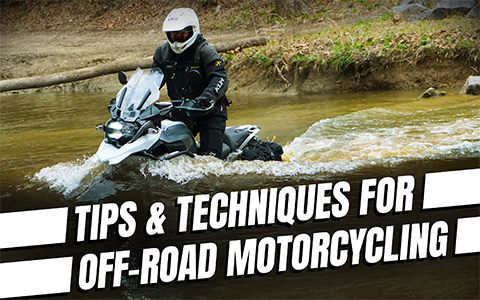 Five Tips for Off-Road Motorcycle Riding